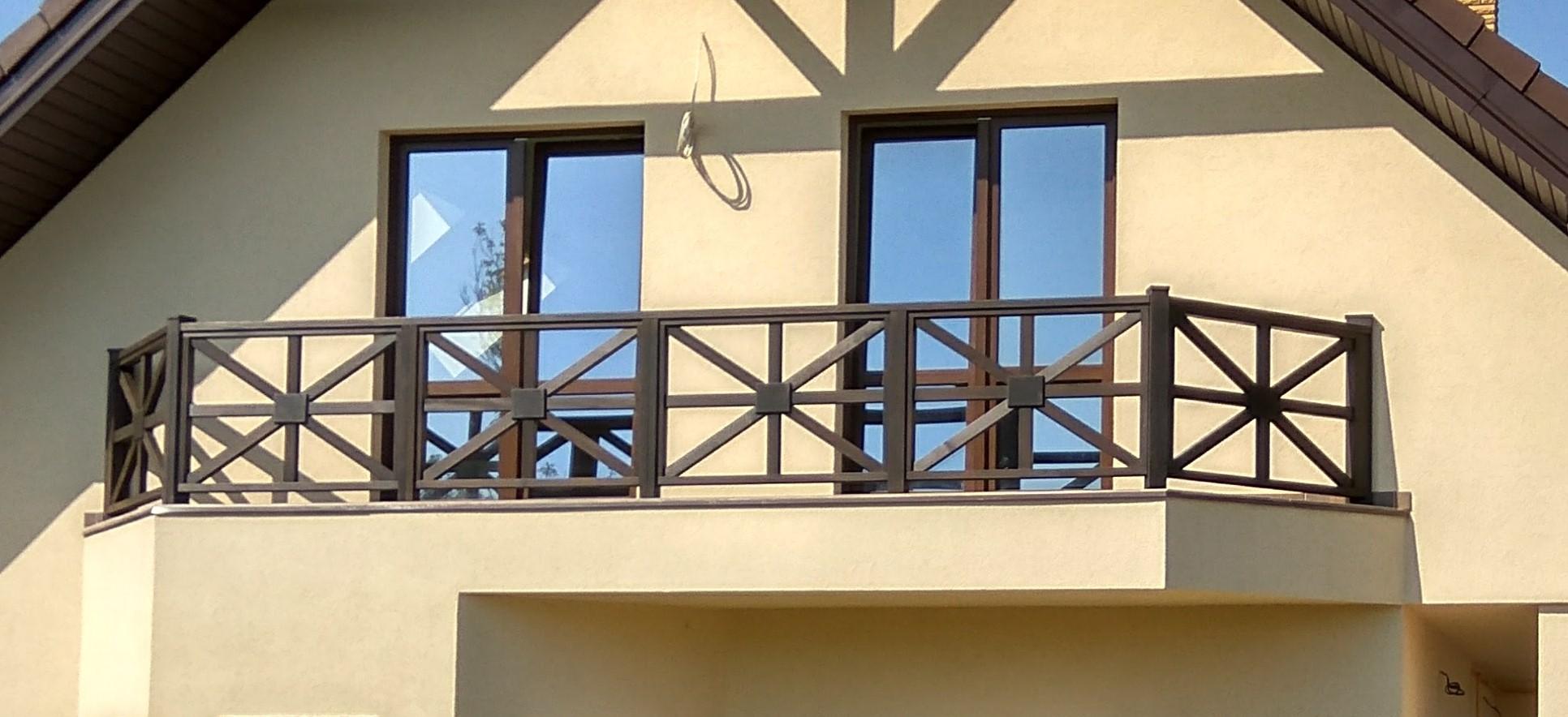 Как сделать перила для балкона своими руками