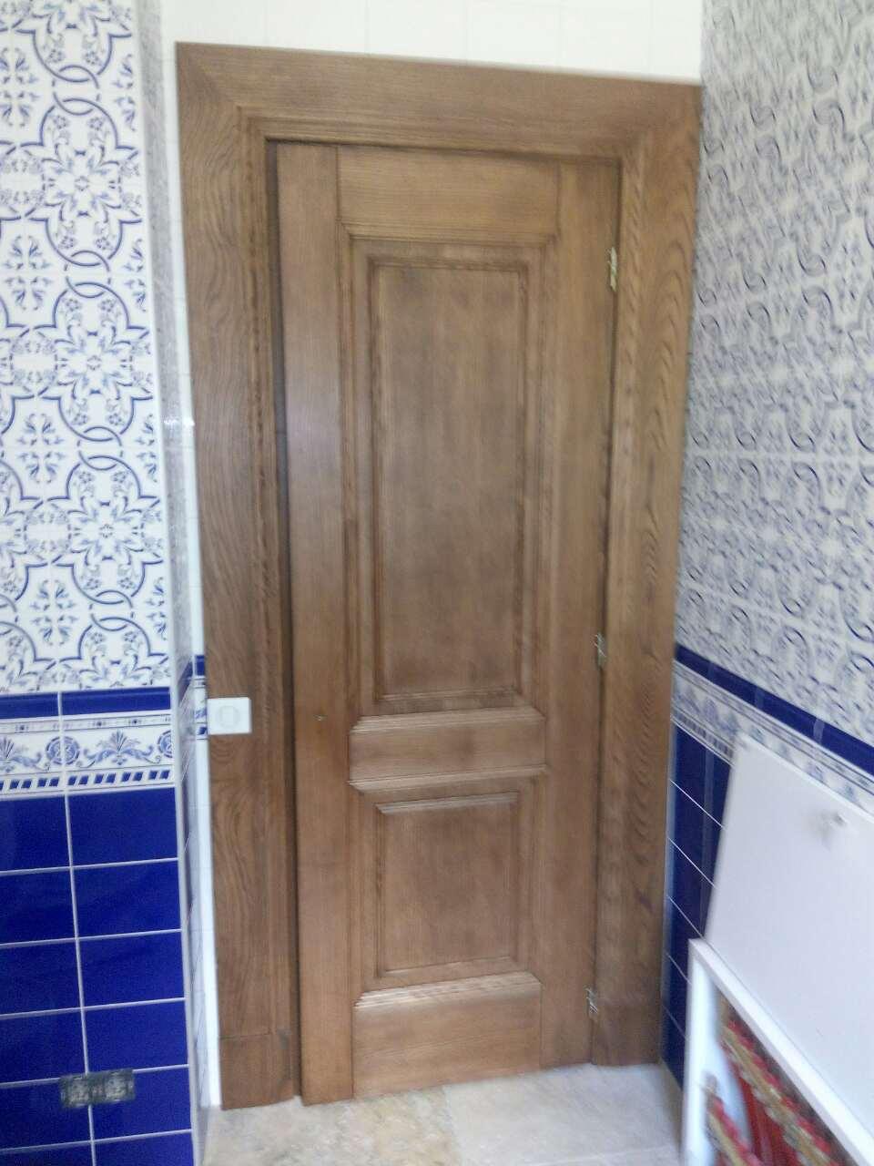 Изготовление деревянных дверей на заказ из массива дерева